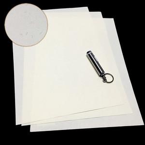 CottonLinen Sicherheit 85gsm Papier Anti Counterfeiting weiße Farbe mit Visible Fiber A4 Größe StarchAcid Freie Wasserdicht