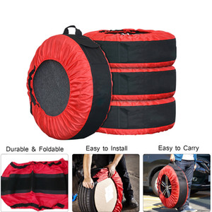 30in Tire Tote Cover Adjustable Waterproof Spare Seasonal Tire Storage Bag for Car Off Road Truck Tire Totes
