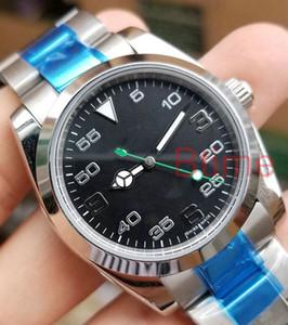 Nuevo 2813 Top Hombres Mecánico de acero inoxidable Movimiento automático AIR KING Reloj Deportes Relojes automáticos Relojes Spors Designer btime
