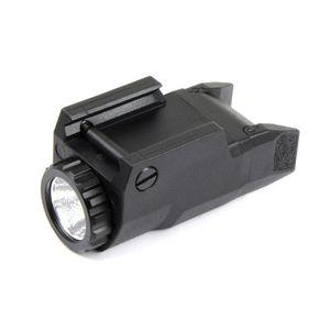 전술 소형 APL 라이트 일정 / 순간 / 스트로브 손전등 APL-C LED 흰색 라이트 블랙