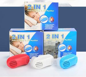 10 pcs 2 em 1 Parar de Ronco Snore Purificador de Ar Nariz Aparelho de Respiração Apnéia Guarda Auxiliar de Dormir Dispositivo de Cessação Ronco Silicone Anti Ronco
