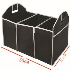 Car Trunk Storage Container Sac Portable Amovible Non Tissé Organisateur Jouet Rangements Boîte Noir Petit 5 5hj cc