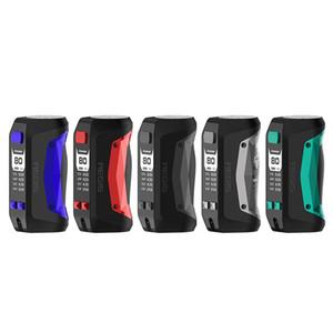 USA Warehouse Original Geekvape Aegis Mini 80W Box MOD 510 Batterie intégrée 2200mAh AVEC AVANCÉ COMME CHIPSET ECIG VAPE MODS