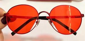 Luxo 0222 Óculos De Sol Para As Mulheres Design de Marca Popular Moda Verão Rodada Estilo Top Quality Proteção UV Lens Vem Com Pacote