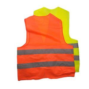 Neue Warnweste für Arbeiten mit hoher Sichtbarkeit und Sicherheit Warnweste für Arbeiten mit reflektierendem Verkehr Grüne reflektierende Sicherheitskleidung