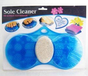 NOVITÀ 20 pezzi Strumenti per la cura del piede Massaggi e detergenti per il bagno Tampone antiscivolo per il bagno Esfoliante Scrub SPEDIZIONE GRATUITA