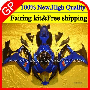 7Gift For SUZUKI R750 06 07 GSX R600 06-07 K6 3GP8149 Blue black GSXR750 GSXR600 GSXR 600 750 2006 2007 k6 Fairing Stock blue