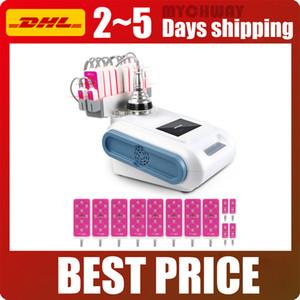 Spa Pro Lipolysis LLLT 10 Pads Diode Lipo Laser Body Slimming Cavitation RF Fat Loss Equipment