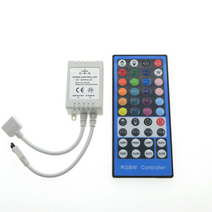 RGBW RGB LED Controller DC12V 40Key 44keys IR Remote Controller for RGBW أو RGBWW LED Strip Lights.