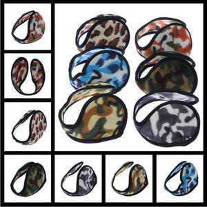 Neue Ear Muffs Camouflage Backphones Warm Plüsch Ohrenschützer Winter Cold Ear Abdeckung Hüte Caps Radfahren Laufen Walking Zubehör Ohrenschützer