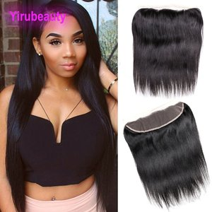 Indian Virgin Hair Lace Frontal 13x4 Closure Straight Hair 8-20inch Lace Frontal Hair Products Top Closures