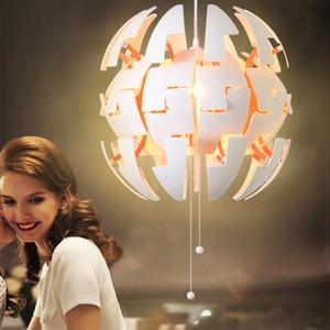 Nordic простой шар деформации LED подвесной светильник ресторан бар кафе спальня прикроватная люстра лобби холл гостиная освещение
