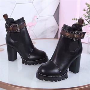 Moda designer de luxo mulheres sapatos de salto alto designer de sapatos de grife de luxo mulheres sapatos 2018 novo show de estilo da marca das mulheres botas