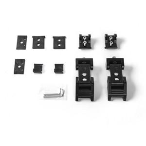 ABS Coche exterior Proteger Black Lock Hood CHAKT CHATCH Decoración de captura para Jeep Wrangler JK Motor de coche Capilla Cerradura Latches Locking