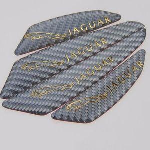 Jaguar F-Pace XJ XE XF 용 도어 스트라이프 안티 콜리 전 데칼 엠블럼 메탈 스틱