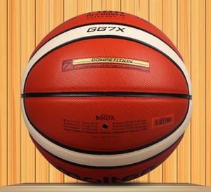 YENI Marka GG7X Basketbol Topu PU malzeme Resmi Size7 Basketbol erkek basketbol Kapalı ve Açık dayanıklı
