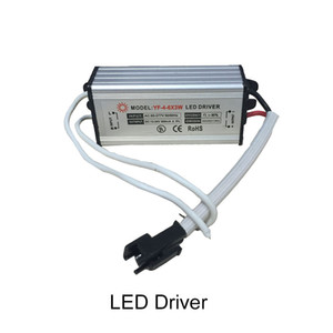 Led Transformer 4W 5W 6W Power Supply Waterproof IP67 Constant Current 600ma DC12V 24V Led Driver for Downlight Floodlight Ceiling Lights