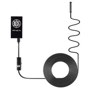 Wifi كاميرا المنظار 7 ملليمتر عدسة 5 متر كابل للماء المنظار borescope التفتيش الأفعى كاميرا لالروبوت الهاتف