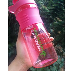 Nouvelle Arrivée Rose Vert Bleu 800ml Herbalife Nutrition 24 Bouteille D'eau Fit Mode Portable Custom Protein Poudre Shaker Bouteille C18110601
