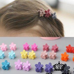 10 pcs nouvelle mode Bébés filles Petits cheveux Claw Mignon bonbons couleur fleur mâchoire cheveux clip enfants Hairpin Accessoires cheveux gros