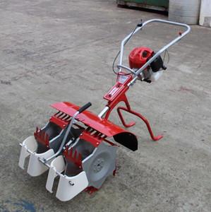 Ferramenta de agricultura mini weeder weeding máquina de arroz paddy weeder máquina 2rows weeding máquina de arroz arrozal weeder