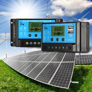 Freeshipping 10a 12.6 v lcd controlador de carga solar pwm regulador de carga para a proteção da sobrecarga da lâmpada da bateria de lítio do painel solar