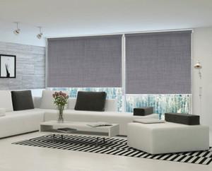 Año nuevo envío gratis Anti UV persianas de rodillo de protección solar aislamiento de calor persianas de ventana para al aire libre para la sala de estar