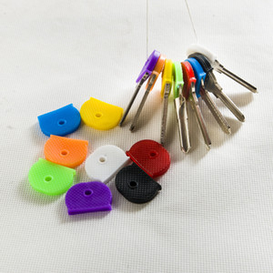 소프트 키 캡 커버 투퍼 실리콘 고무 키 캡 슬리브 링 식별자 링 키를 식별 멀티 컬러 도매