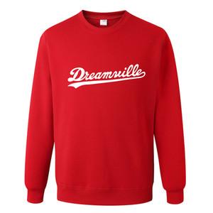 J. COLE Dreamville Imprimé Pull Hommes Femmes Casual Pullover Femelle Hip Hop Designer Sweats Sweats À Manches Longues T-shirts