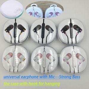 forte auricolare per telefoni bassi con microfono e controllo volume per cuffie mp3 mp4 buone cuffie audio