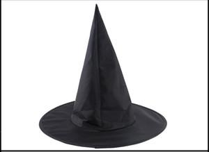 أسود أكسفورد انفجار ختم هود هاري بوتر ماجيك هات هالوين الساحرة قبعة جميع القبعات المعالجات السوداء