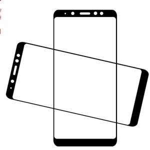 Protecteur d'écran en verre trempé de couverture pleine couverture 9H imprimé pour Samsung Galaxy J3 2018 J7 2018 A6 A6 PLUS A8 A8 PLUS 100pcs / lot