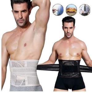 Satış Damla Nakliye Şekillendirme Erkekler Kuşak Vücut Şekillendirici Iç Çamaşırı Karın Yağ Yakma Kuşak Göbek Vücut Şekillendirici Korse Zayıflama Kemeri