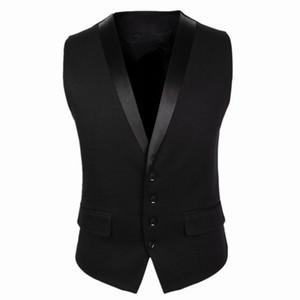 2020 neue Bräutigam Westen für Hochzeit Partei Westen Slim Fit Herren Westen Custom Made Plus Size britischen Stil Bräutigam tragen Business-Anzug