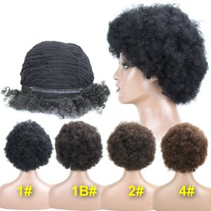peruca de cabelo Cosplay Perucas Afro sintético para Mulheres Negras Freetress Igualdade de alta temperatura sintético Perucas Venda frete grátis