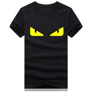 gros impression yeux grand logo Hommes Femmes T-shirts manches tee Femme court d'été de luxe T-shirts O shirts signature du cou Hip Hop courir S-5XL