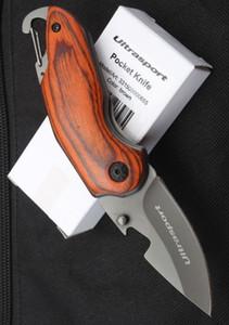 Atacadista de alta qualidade de madeira Multi-função de Bolso Faca Dobrável Lâmina afiada Sobrevivência Tática Facas de Acampamento Ao Ar Livre ferramentas frete grátis