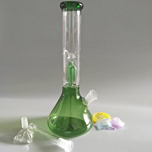 Hookah de cristal verde de alta calidad con 1 filtro 12 5 pulgadas GB305