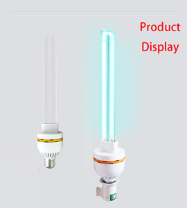 E27 Ev UV Dezenfeksiyon Lambası 15W 20W 30W Kuvars Ultraviyole Antiseptik Lambalar 110V 220V T6 UV Sterilizatör Lambası