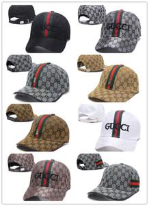Top Fashion 100% Algodón Sombreros de lujo Bordado sombreros para hombres mujeres Moda snapback gorra de béisbol visera de golf gorras bone casquette hat