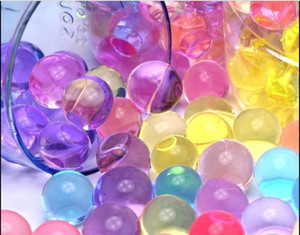 HOT SALE 10000pcs bag Water Beads MarvelBeads for Orbeez Spa Refill Sensory Toy Soft Crystal Bullet Paintball Bullet Crystalbullet Waterg
