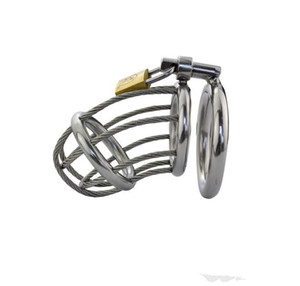 Free Shipping!!!Stainless Steel Male Chastity Device,Cock Cage,Chastity Belt,Penis Ring,Virginity Lock,Adult Game,Sex Toy SNA165