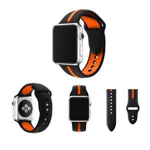 38 мм 42 мм замена спортивный силиконовый Быстроразъемный ремешок для часов резиновый браслет для Apple Iwatch Band