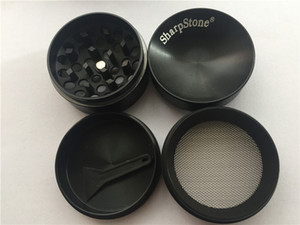 concave grinder 40mm 4pc SharpStone herb grinder smoking Dry herb Sharp Stone grinders metal colorful cheap tobacco grinder For smoking