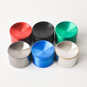 Içbükey Değirmenleri Keskin Içbükey Kapak Öğütücü Herb Spice Kırıcı 40mm 50mm 55mm 63 mmTobacco Öğütücü 6 Renkler