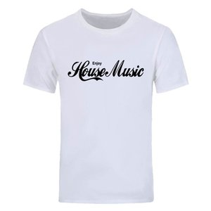 Enjoy House MUSIC PRINTED T SHIRT DANZA DJ IBIZA TEE WOMENS YOUTH TOP CLUB Più dimensioni e colori DIY-0750D