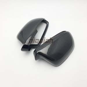 High Quality Replacement Type Real Carbon Fiber Side Mirror Cover Rearview Mirror Cover For Skoda Octavia 2012-2014