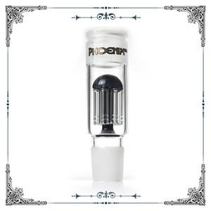Adattatore di accessori in vetro 8 bracci perc fit # 34 maschile femminile formato comune caffettiera a filtro in vetro standard per bicchiere d'acqua pipe bong accessori