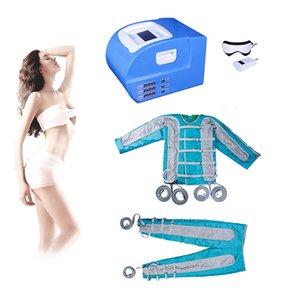 2019 Pressotherapie Lymphdrainage-Maschine Sauna Pressotherapie-Behandlung ems Muskelstimulation Air Pressure Pressotherapie Detox Körperaugen