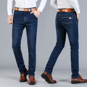 Yeni Jantour Jeans Erkek Moda Marka-Erkek Erkek Mavi Pantolon Adam Kaliteli Flanel Rahat Pantolon Jean Büyük Boy 40 42 44 46 Sıc ...